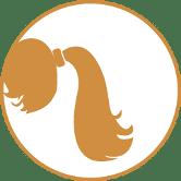 Capelli coda di cavallo